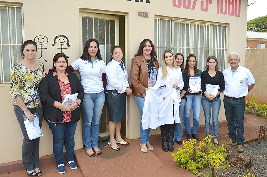 A Prefeitura Municipal de Pedrinhas Paulista e o Conselho Municipal dos Direitos da Criança e do Adolescente (CMDCA) fizeram a entrega