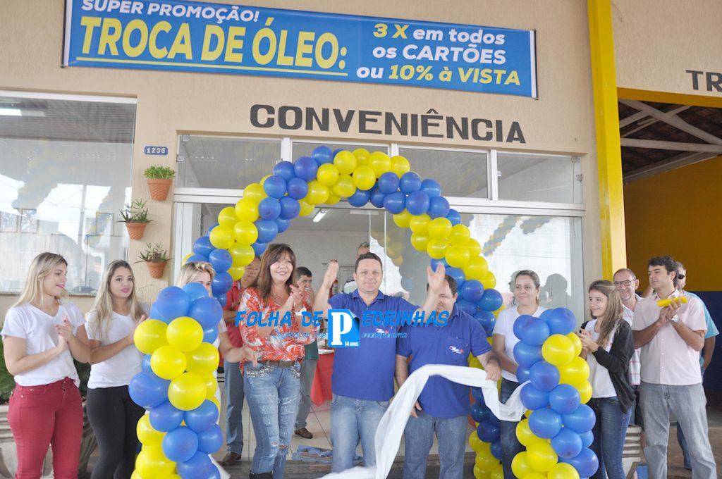 Inauguração contou com a presença da prefeita Angela e do prefeito eleito Sérgio